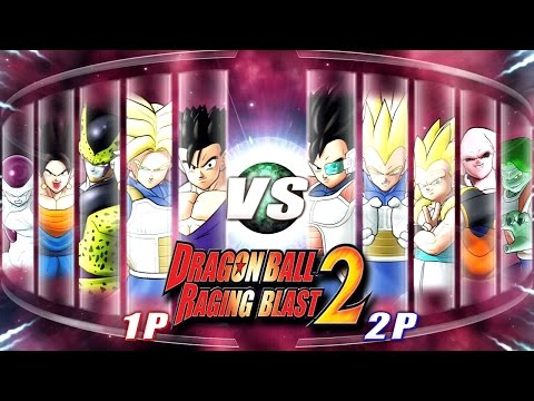 Dragon Ball Z Raging Blast 2 - Random Characters 7 (What If Battle)