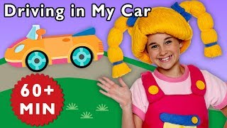 Driving in My Car and More | Road Trip Adventure | Baby Songs from Mother Goose Club!
