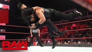 Roman Reigns vs. Sunil Singh: Raw, June 11, 2018
