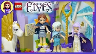 Lego Elves Skyra's Mysterious Sky Castle Unboxing Building Review - Kids Toys