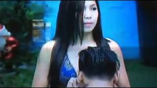 Pbb737 dawn and zeus at the pool