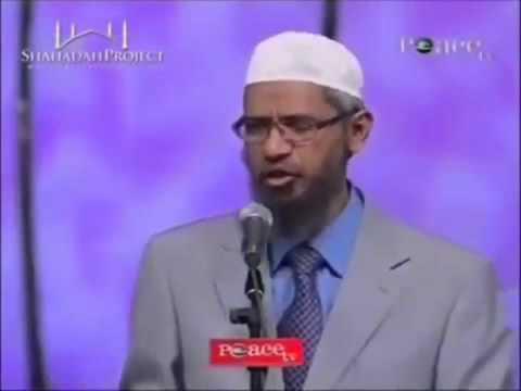 Zakir Naik - illogically shamelessly - explaining and justifying female slavery for sex in Islam