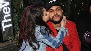 Selena Gomez Sweetly Kisses The Weeknd in Paris Before His Awkward Run-In With Ex Bella Hadid