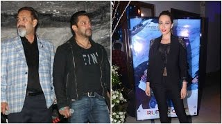 Salman Plays Mute At A Movie Launch | Salman Catches Iulia's Performance