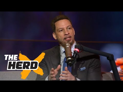 Chris Broussard Drama is good for the NBA THE HERD