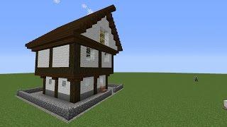 Дом в Minecraft за 2 секунды! Без модов.
