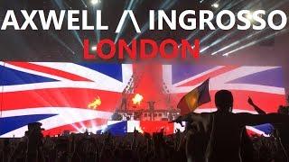 AXWELL /\ INGROSSO Steel Yard London 2017 - highlights