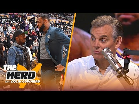 Colin Cowherd thinks LeBron James injury is causing real tension with the Lakers NBA THE HERD