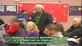 Sebring School EX SEBRING MAYOR SAYS PEOPLE SHOULD KNOW