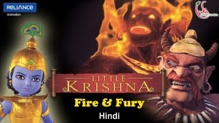 Little Krishna Hindi - Episode 5 Pralambasura and the Fire Demon
