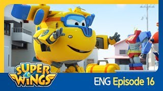 [Super Wings] EP 16 - Paper Rangers(ENG)