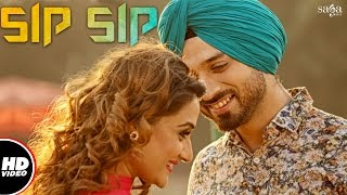 Sip Sip (Full Video) || Charan || New Punjabi Songs 2016 / 2017 || SagaHits
