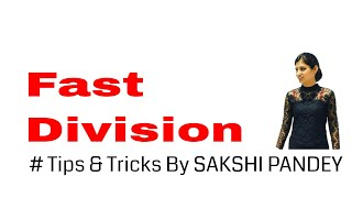 Bank PO Fast Division Trick - Vedic Maths   IBPS   Clerk   SSC