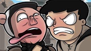 NOGLA RAGES AT WILDCAT! - CS:GO Funny Moments
