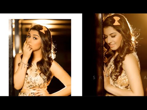 Hansika Motwani Photo Shoot - Behind The Scenes - Karthik Srinivasan
