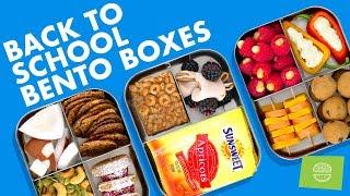 DIY Back To School Bento Snack Boxes! Easy Healthy Recipes!