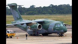 [ HD ] MAO - Embraer KC-390 PT-ZNJ at Manaus SBEG Eduardo Gomes Airport