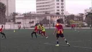 Au entraînement au Parc de l espérance sportive de Tunis