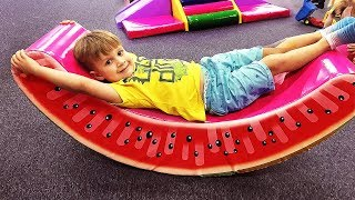 Indoor Playground Family Fun Play Area for kids, Baby Nursery Rhymes Song