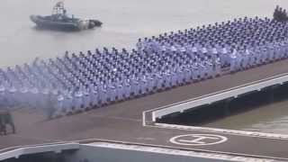 1.  Upacara HUT 69 TNI - Koarmatim  Surabaya 2014 - Parade