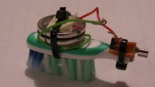 Simple Micro Robotic Bug - Nano Bicho (Bug) Robot - как сделать микро работа