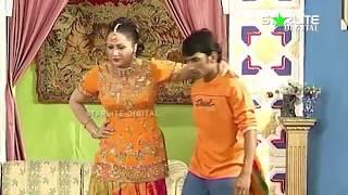Zafri Khan, Nargis and Sakhawat Naz New Pakistani Stage Drama Full Comedy Clip