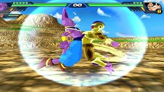 Beerus and Golden Frieza Fusion | Golden Beerus vs Goku FNF & Naruto | DBZ Budokai Tenkaichi 3 (MOD)