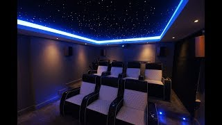 Time lapse - building a cinema room