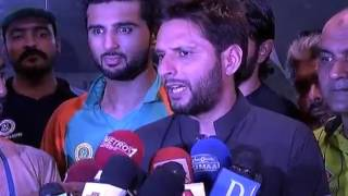Afridi gets angry on question about Sarfraz's captaincy