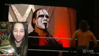 WWE Raw 1/19/15 Handicap John Cena vs Rollins Show Kane