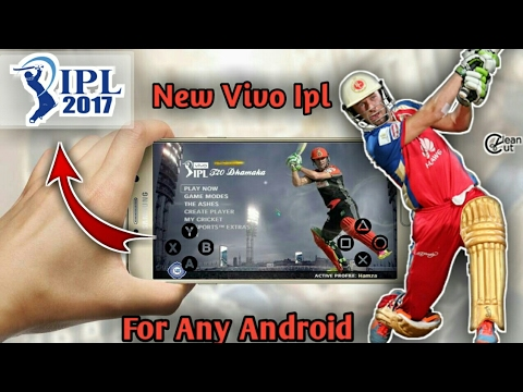How to download New Vivo Ipl 2017 game for Android with Enb 4k graphics