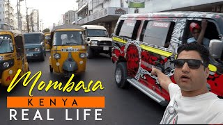 Mombasa Kenya Real Life (Markets, Food, People)