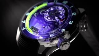HYT H4 Metropolis Watch With Dynamo LED Light Illumination | aBlogtoWatch