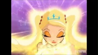 Winx Club Enchantix - Todas las transformaciones en español castellano / All transformations