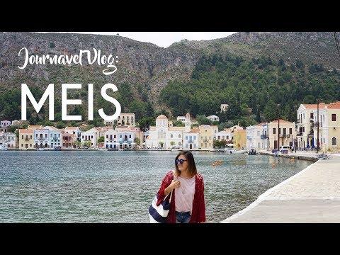 Meis Adası 2017 | Journavel Vlog | Kaş'tan Günübirlik Meis / Kastellorizo