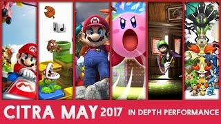 In Depth Performance of 10 3DS Games on PC! - Citra May 2017