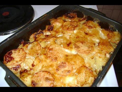 Запекание картошки с мясом в духовке в рукаве рецепт