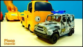 TRANNY Toys Unboxing! - Tayo Bus Toys & Lightning McQueen Toy Cars videos for kids - Toy Cars