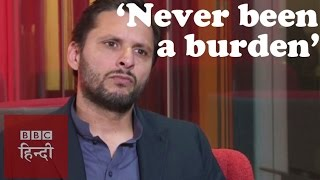 Afridi: There is no cricketing talent in Pakistan (BBC Hindi)