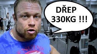 Filip Grznár - dřep 330kg