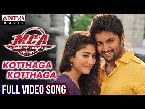 Xxx Mp4 Kotthaga Kotthaga Full Video Song MCA Full Video Songs Nani Sai Pallavi DSP Sriram Venu 3gp Sex