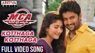 Kotthaga Kotthaga Full Video Song   MCA Full Video Songs   Nani, Sai Pallavi   DSP   Sriram Venu