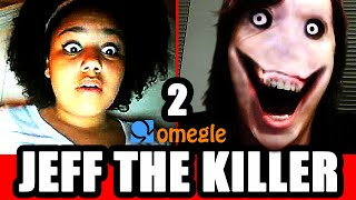 Jeff the Killer Scares Omegle Video Chatters Again!