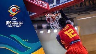 Japan v Spain - Live - FIBA U19 Basketball World Cup 2017