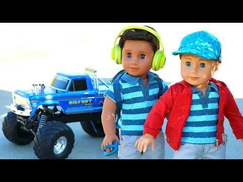 New American Girl Boy Doll Collection