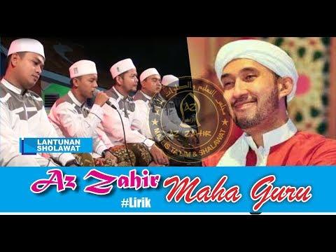 Maha Guru Az Zahir Lirik Cover Mayada | Live MAN Tegal | Lantunan Sholawat