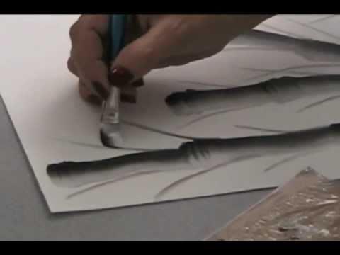Técnicas de Pinceladas Decorativa