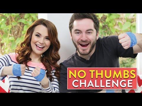 NO THUMBS CHALLENGE ft CaptainSparklez!