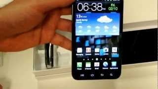 Unboxing Samsung Galaxy Note 4G LTE