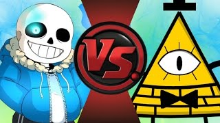SANS vs BILL CIPHER 2! REMATCH! Cartoon Fight Club Episode 99